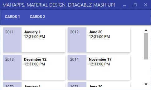 Material Design In XAML – Mash Up! |