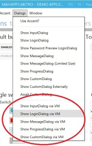 Dialogs via MVVM in MahApps